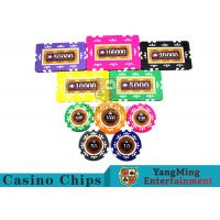 Wholesale Embedded Feel Casino Poker Chip Set With Environmental Protection Materials from china suppliers