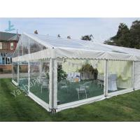 Wholesale Transparent PVC Fabric Cover Backyard Luxury Party Tents with Aluminum Frame from china suppliers