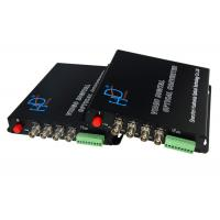 Wholesale multi-function 4channel fiber optical converter audio video modem from china suppliers