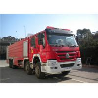 Wholesale Darley Pump International Fire Truck , Lengthen Cab Fire Fighting Vehicles from china suppliers