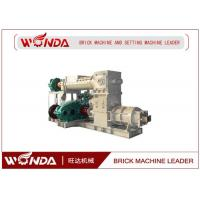 China Reamer Soild Clay Brick Making Machine , Clay Brick Extruder Machine Large Output on sale