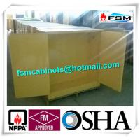 Wholesale High Performance Flame Proof Industrial Storage Cabinets 30 Gallon Shelf Adjustable from china suppliers