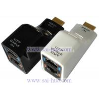 Wholesale HDMI Extender by CAT-5e/6 with IC extention hdmi cable up to 100 meters from china suppliers