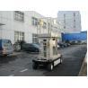 400 kg Loading Mobile Elevating Working Platform 8m For Outdoor Maintenance Work