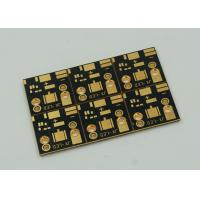 Wholesale 1 Layer Copper Clad PCB Board For High Power Led Lights Gold Finish from china suppliers