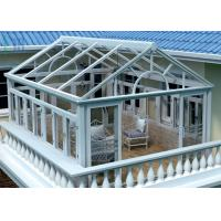 Wholesale Safety Glass Villa Aluminium Frame Greenhouse Sunroom For Leisure Life from china suppliers