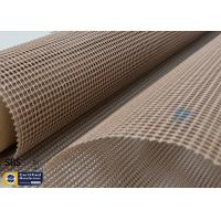 Wholesale PTFE Coated Fiberglass Fabric 580GSM 4*4MM Mesh Screen Printing Conveyor Belt from china suppliers