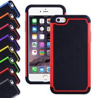 Buy cheap Apple Iphone 6 plus 5.5 inch silicone cell phone covers with Hard plastic case from Wholesalers