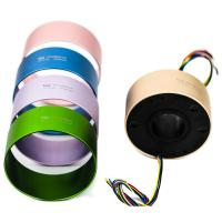Wholesale Three Bore Size Optional Slip Ring Smooth Ruuning Transmitting Power And Signal For Military And Defence Industry from china suppliers