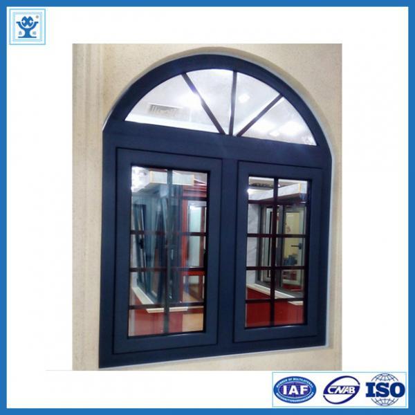 Thermal Break Aluminium Casement Window European Style