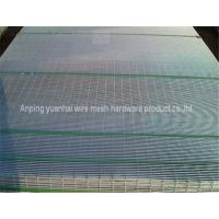 Wholesale Hot Dip Anti Climb Fencing Panels , Steel Security Fencing For Water Treatment Works from china suppliers