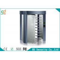 Wholesale 2 Lane Security Full Height Turnstile Pedestrian For Access Time Attendance from china suppliers