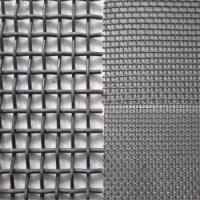 Wholesale Anti Corrosion Crimped Wire Mesh For Mining / Stone Crusher Vibrating Screen from china suppliers