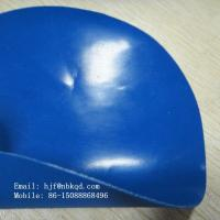 Quality 0.6mm Blue Rubber Tarpaulin Hypalon Fabric for sale