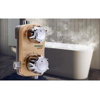 Wholesale Gold Thermostatic Shower Mixer Valve , Household Wall Mounted Solar Electric Water Heater from china suppliers