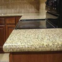China Prefab Laminate Countertops, Available in Various Styles and Customized Sizes, Golden Sunset Granite on sale