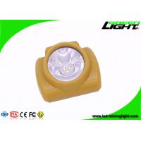 Wholesale Rechargeable LED Mining Cap Lights , Anti - Explosion Cordless Miners Helmet Light from china suppliers