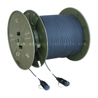 Wholesale Military Telecommunications GJFJU Armored OFNR Fiber Optic Cable from china suppliers