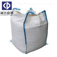 Wholesale Sand 1 Ton - 1.5 Ton FIBC Bulk Bags Top Open Bottom Flat White Color from china suppliers