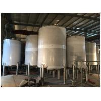 Quality Industrial Gasline / LPG Gas Storage Expansion Tanks With Full Parts Vertical Orientation for sale