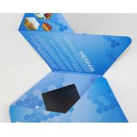China 7 inch TFT Flip Book Video for Advertising , video booklet with 2G memory on sale