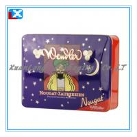 Wholesale rectangle metal candy tin box from china suppliers