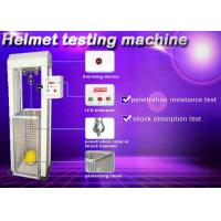 Wholesale Safety Helmet Shock Absorption And Penetration Tester , Helmet Lateral Rigidity Tester from china suppliers