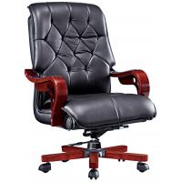 China office manager antique solid wood arm chair furniture on sale