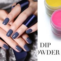 Wholesale Professional 3 in 1 Purple Color Nail Art Match Acrylic Dip Powder and Polish Gel from china suppliers