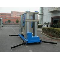 Wholesale 22 M Aluminum Alloy One Man Lift Motor Driven Blue For Window Cleaning from china suppliers
