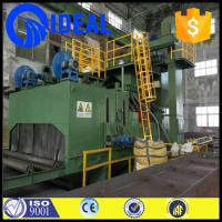 Quality Good quality roller conveyor shot blasting machine for cleaning steel plate for sale