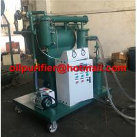Portable Transformer Oil Cleaning/Insulating Oil Filtration Machine With Single Vacuum System/ZY Insulation Oil Purifier for sale