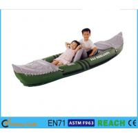 Wholesale 58'' X 33'' Inflatable Float Boat 3 Person Loading With High Output Air Pump from china suppliers