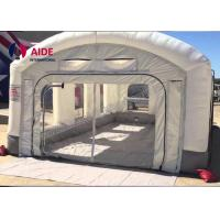 Wholesale Mobile Inflatable Spray Booth For Car , Portable Paint Booth Pvc Tarpaulin from china suppliers