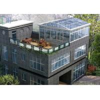 Wholesale Eco Environmental Aluminium Frame Greenhouse Sunroom For High Level Villa from china suppliers