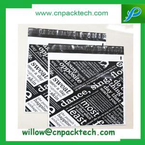 China Bespoke print postal mailing bags flat poly mailer on sale