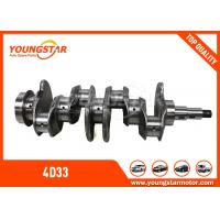 Wholesale MITSUBISHI Canter 4D33 Diesel Engine Crankshaft 3.4D ME - 018297 ISO 9001 from china suppliers