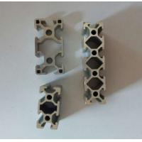 Wholesale Silvery Anodized Industrial Aluminium Profile , Aluminium Alloy 6063 Extrusion from china suppliers