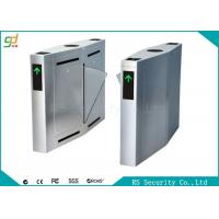 Wholesale Durable Lane IR Sensor Speed Flap Barrier Gate Subway Hotel Turnstile from china suppliers