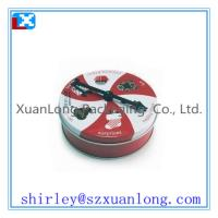 Wholesale Metal Round Cake Cookie Storage Can Tin Box from china suppliers