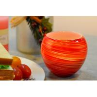 Wholesale Colorful Glass Candle Holder for Wedding Decor , Red Yellow Color Material Mixed Planet from china suppliers