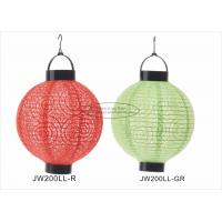 Wholesale Eyelet Outdoor Paper Lantern Lights , Battery Operated Paper Lanterns For Weddings from china suppliers