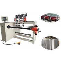 China Three 400mm Height Coil Winding Machine , PLC Control Automatic Wire Winder for sale