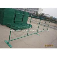 Buy cheap PVC Coated Metal Temporary Security Fencing For Backyard OEM / ODM from wholesalers