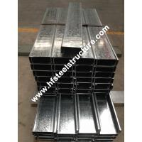 Wholesale Hot Dipped Galvanised Steel Purlins from china suppliers