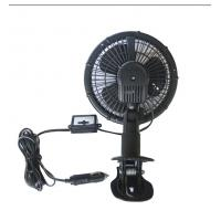 Quality 6 Inches Oscillating Car Fan Plastic With Led for Vehicle / Boat for sale
