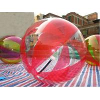 China Multi Colored Water Human Hamster Ball For Adults Inflatable Walking Ball 1.0mm TPU on sale