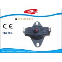 Wholesale KSD302 series manual reset Snap Disc Thermostat / bi metal thermostat for heat protection from china suppliers