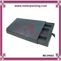 Wholesale Wholesale drawer open black rigid paper box with EVA insert ME-DR002 from china suppliers