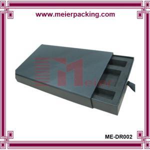 Wholesale Black matte Rectangular Box EVA insert drawer type ME-DR002 from china suppliers